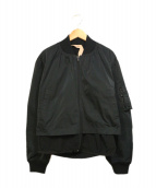 N°21(ヌメロ ヴェントゥーノ)の古着「バックレースブルゾン」|ブラック