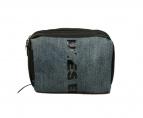 DIESEL(ディーゼル)の古着「デニム切替ショルダーバッグ」|インディゴ×ブラック