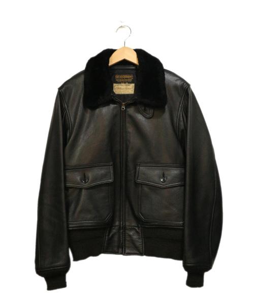 Buzz Rickson's(バズリクソンズ)Buzz Rickson's (バズリクソンズ) G-1フライトジャケット ブラック サイズ:38 WILLIAM GIBSON COLLECTIONの古着・服飾アイテム