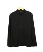 REGULATION Yohji Yamamoto(レギュレーション ヨウジヤマモト)の古着「スタンドカラージャケット」 ブラック