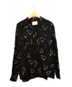 NEON SIGN(ネオンサイン)の古着「BREAKER SHIRTS」|ブラック