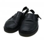 foot the coacher(フットザコーチャー)の古着「ストラップスシューズ」 ブラック