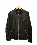 GARNI(ガルニ)の古着「ライダースジャケット」 ブラック
