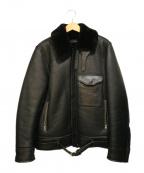 MARKAWARE(マーカウェア)の古着「フライトレザージャケット」|ブラック