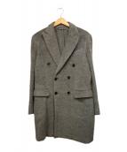 RING JACKET(リングジャケット)の古着「ダブルスライバーコート」|グレー