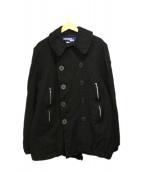 JUNYA WATANABE MAN(ジュンヤワタナベマン)の古着「Pコート」|ブラック