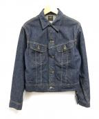 LEE()の古着「デニムジャケット」 インディゴ