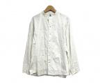 HaaT(ハート)の古着「バンドカラーステッチシャツ」 ホワイト