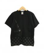 BLACK COMME des GARCONS×NIKE(ブラックコムデギャルソン×ナイキ)の古着「Tシャツ」|ブラック