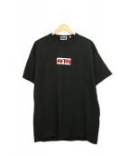 KITH(キス)の古着「トモダチボックスロゴTシャツ」|ブラック