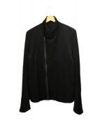 JULIUS(ユリウス)の古着「ジップアップジャケット」|ブラック