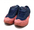 adidas×RAF SIMONS(アディダス×ラフシモンズ)の古着「ローカットスニーカー」|ピンク×ネイビー