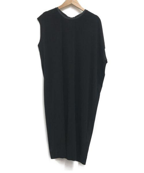 malene birger(マレーネ ビルガー)malene birger (マレーネ ビルガー) バックジップワンピース ブラック サイズ:表記なしの古着・服飾アイテム