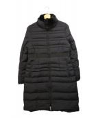 Demi-Luxe BEAMS(デミルクスビームス)の古着「ラビットファーダウンコート」 ブラック