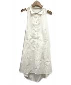 PRADA(プラダ)の古着「シャツチュニック」|ホワイト
