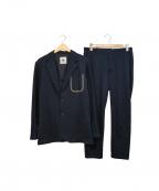 le coq sportif(ルコックスポルティフ)の古着「ストレッチセットアップスーツ」|ネイビー