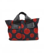 kawa-kawa(カワカワ)の古着「ハンドバッグ」|レッド