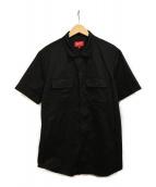Supreme(シュプリーム)の古着「S/S Work Shirt」|ブラック