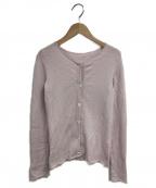 lucien pellat-finet(ルシアン・ペラフィネ)の古着「カシミヤカーディガン」|ピンク