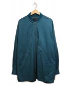 DIESEL BLACK GOLD(ディーゼルブラックゴールド)の古着「ブルゾン」|ブルー