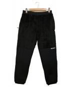 F.C.R.B.(エフシーアールビー)の古着「POLARTEC HIGH LOFT PANTS」 ブラック