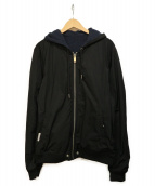 DIESEL(ディーゼル)の古着「リバーシブルジャケット」|ブラック