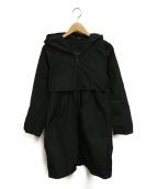 S Max Mara(エス マックスマーラ)の古着「ナイロンコート」|ブラック