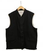 ordinary fits(オーディナリーフィッツ)の古着「ヤードベスト」|ブラック