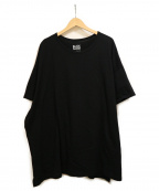 BLACK SCANDAL YOHJI YAMAMOTO(ブラックスキャンダル ヨウジヤマモト)の古着「バックプリントオーバーサイズカットソー」 ブラック