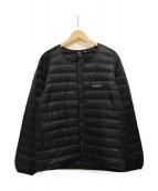 mont-bell(モンベル)の古着「スペリオダウン ラウンドネックジャケット 」|ブラック