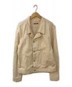 ()の古着「デニムジャケット」|アイボリー