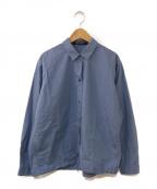 SOFIE DHOORE(ソフィードール)の古着「タイプライターシャツ」|ブルー