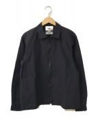 ()の古着「ジップアップシャツ」|ネイビー