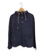 Battenwear(バテンウェア)の古着「プルオーバーシャツジャケット」 ネイビー