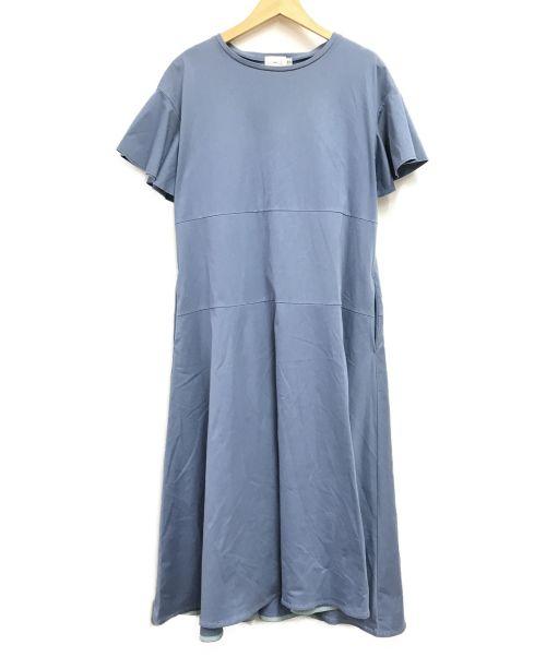 YORI(ヨリ)YORI (ヨリ) フレアワンピース スカイブルー サイズ:Freeの古着・服飾アイテム