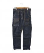 TCB jeans(ティーシービー ジーンズ)の古着「ストレートデニムパンツ」|インディゴ