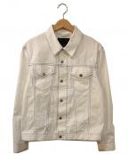 CABaN(キャバン)の古着「コットンギャバジンオーバーサイズブルゾン」 ホワイト