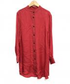 STEVEN ALAN()の古着「CUPRA FLAIR DRESS」|レッド