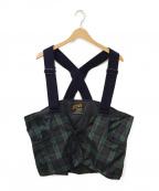 Comfy Outdoor Garment(コンフィーアウトドアガーメンツ)の古着「ハンティングベスト」|グリーン