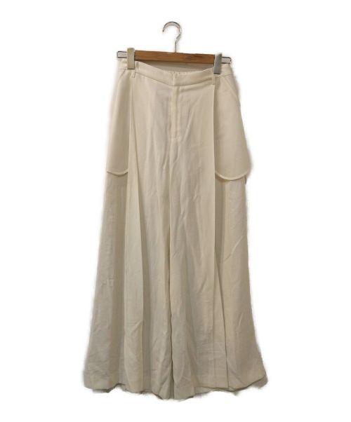 Ameri(アメリ)Ameri (アメリ) BARE POCKET WIDE PANTS ホワイト サイズ:Mの古着・服飾アイテム