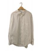 Graphpaper(グラフペーパー)の古着「L/S B.D Box Shirt」 ホワイト