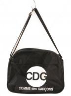 GOOD DESIGN SHOP COMME des GARCONS(グッドデザインショップ コムデギャルソン)の古着「ショルダーバッグ」 ブラック