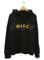 M+RC NOIR(マルシェノア)の古着「プルオーバーパーカー」|ブラック