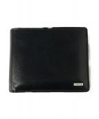 PORTER(ポーター)の古着「2つ折り財布」|ブラック