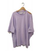 MARTIN MARGIELA(マルタン・マルジェラ)の古着「ワンショルダーオーバーTシャツ」|パープル