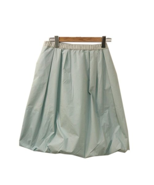 TO BE CHIC(トゥービーチック)TO BE CHIC (トゥービーチック) タフタバルーンスカート ブルー サイズ:Mの古着・服飾アイテム