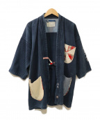 ATELIER&REPAIRS(アトリエ&リペアーズ)の古着「リメイク剣道衣ジャケット」|ブルー