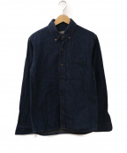 FULLCOUNT(フルカウント)の古着「デニムB.Dシャツ」 インディゴ