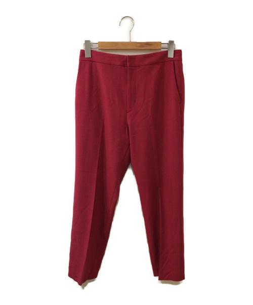 Plage(プラージュ)Plage (プラージュ) クロップドストレートパンツ ピンク サイズ:表記なしの古着・服飾アイテム