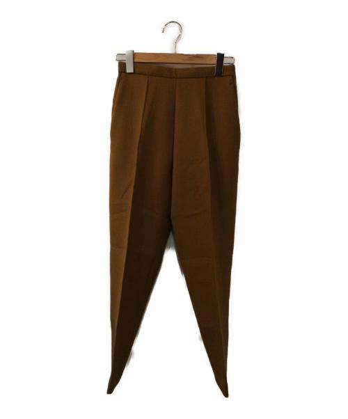 YLEVE(イレーヴ)YLEVE (イレーヴ) WOOL DOUBLE CLOTH TROUSER ベージュの古着・服飾アイテム